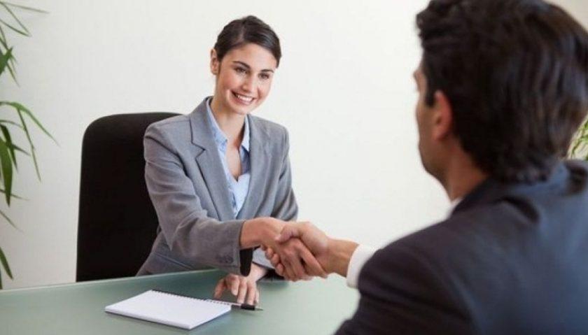 La actitud durante la entrevista