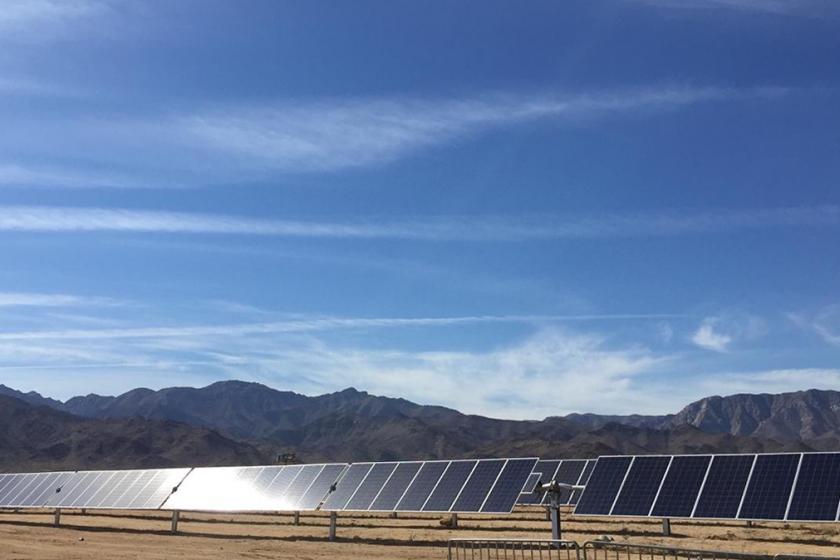 """IENOVA inauguró parque la """"Rumorosa Solar"""" en Baja California"""